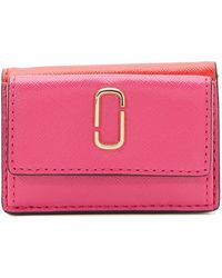 """Marc Jacobs Mini Trifold"""" Wallet"""" - Pink"""