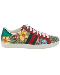 Gucci Sneakers New Ace - Mehrfarbig