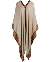 Loro Piana Poncho - Natural
