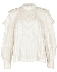 Étoile Isabel Marant Reign Blouse - White