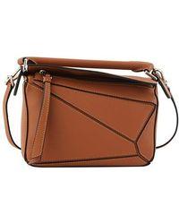 Loewe Puzzle Mini Bag - Brown