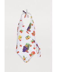 MSGM - One-piece Fruit-print Swimsuit - Lyst