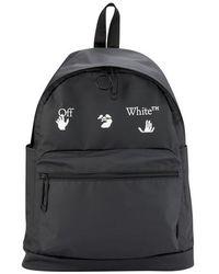 Off-White c/o Virgil Abloh Rucksack mit Logo - Schwarz