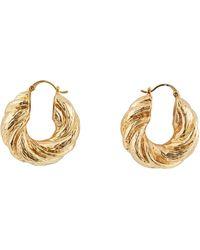 Rejina Pyo Ring Earrings - Metallic