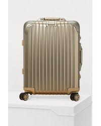 Rimowa - Topas Titanium Cabin Multiwheel Luggage - 32l - Lyst