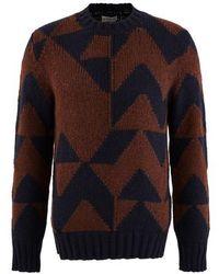 Moncler Graphic Sweatshirt - Blue