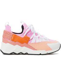Pierre Hardy Sneaker Trek Comet - Pink