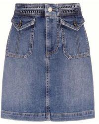 Vanessa Bruno Naoto Skirt - Blue