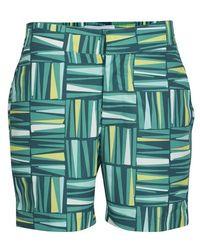 Frescobol Carioca Palm Swim Shorts - Green