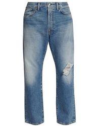 Acne Studios 2003 Blue Destroyed Jeans