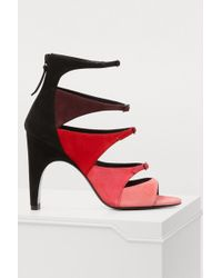 Pierre Hardy - Lula Color-block Heeled Sandals - Lyst