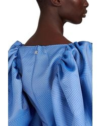 ROTATE BIRGER CHRISTENSEN Kleid Irina - Blau