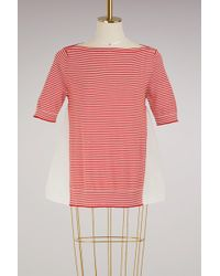 Moncler - Knitted T-shirt - Lyst