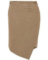 Balenciaga Twisted Mini Skirt - Multicolour