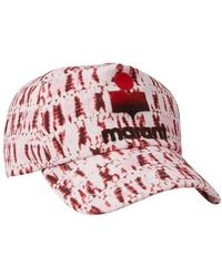 Isabel Marant Casquette Tyron - Rouge