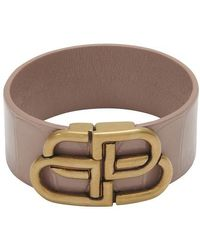 Balenciaga Bb Large Bracelet - Black