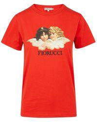 Fiorucci - 'angels' Graphic Logo Print T-shirt - Lyst