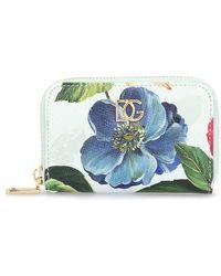Dolce & Gabbana Portefeuille fleurs - Multicolore