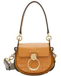 Chloé Tess Small Bag - Brown