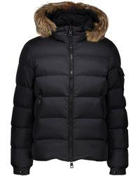 Moncler Marque Winter Jacket - Black