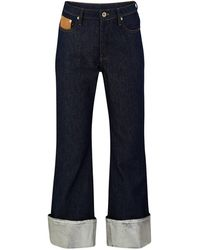 Paco Rabanne Turn-up Jeans - Blue