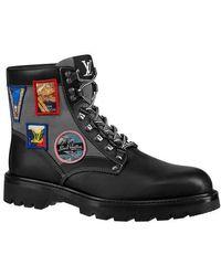 Louis Vuitton Oberkampf Ankle Boot - Black