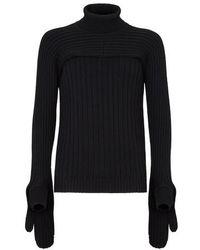 Fendi Wool Sweater - Black