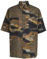 Acne Studios - Short Sleeve Shirt - Lyst