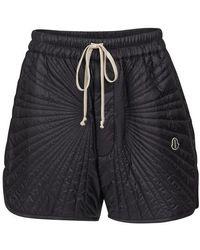 Rick Owens X Moncler Shorts aus Shell - Schwarz