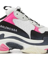 Balenciaga Sneakers With Logo - Multicolor