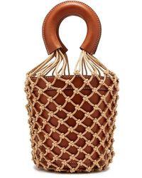 STAUD Medium Moreau Bucket Bag - Brown