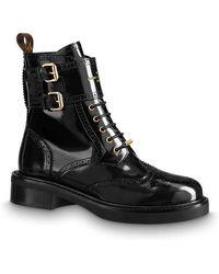 Louis Vuitton Midtown Ankle Boot - Black