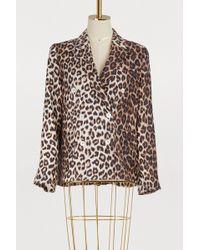 La Prestic Ouiston Tom Sayer Leopard Jacket - Multicolour