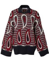 JW Anderson Wool Sweater - Purple