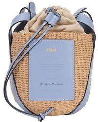 Chloé Small Basket Bag - Blue