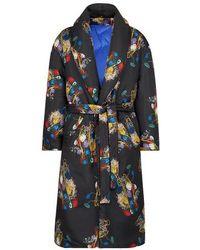 Fendi Silk Coat - Black
