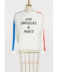 Clare V. - Los Angeles À Paris Sweatshirt - Lyst