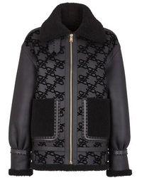 Fendi Shearling Jacket - Black