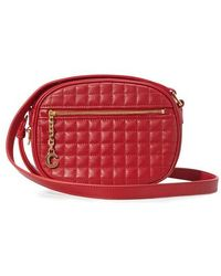 Celine C Small Model Charm Bag - Red