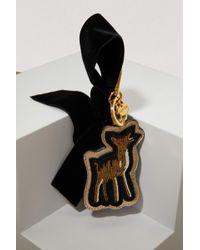 Miu Miu Bambi Bag Charm - Black