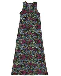 Vilebrequin Long Linen Cotton Dress - Black