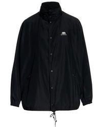 Balenciaga Waterproof Coat - Black