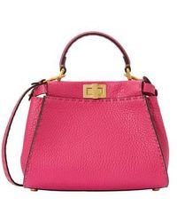 Fendi Peekaboo Min Handbag - Multicolour