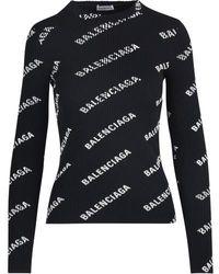 Balenciaga - Pullover à col rond - Lyst