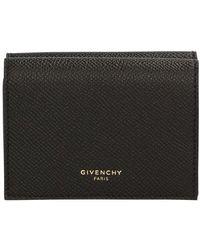 Givenchy Porte-cartes en cuir - Noir