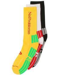 Aries No Problemo Socks X3 - Multicolour
