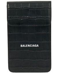 Balenciaga Phone Holder - Black