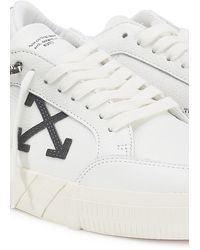 Off-White c/o Virgil Abloh Low Sneakers Vulcanized - Schwarz