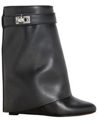 Givenchy Shark Lock Pant Boots - Black