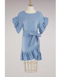 Étoile Isabel Marant - Cotton Lelicia Dress - Lyst